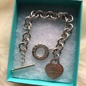 Toggle Bracelet w/Return to Tiffany & Co. Tag